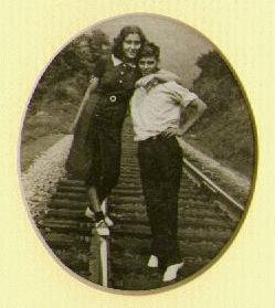 winton and eloise by the tracks
